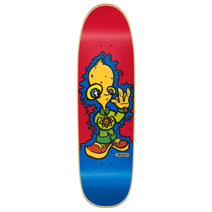 "New Deal - Montessi Alien Re-Issue Deck 8.875"" (Red)"