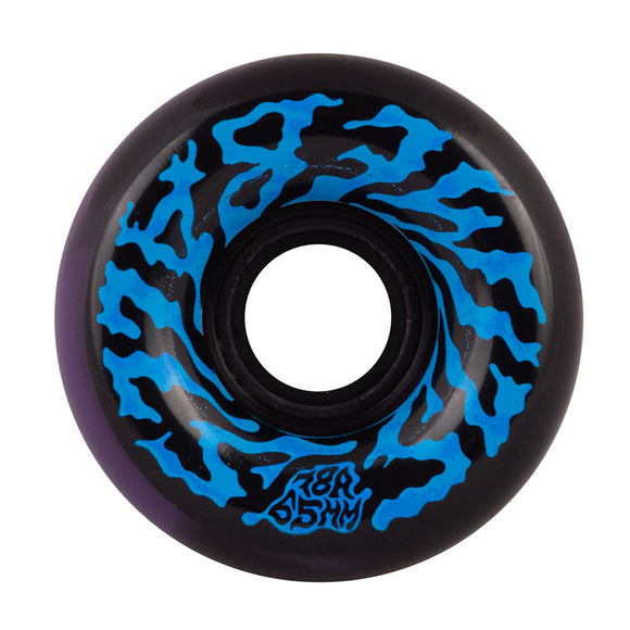 Santa Cruz - Swirly Black Purple Swirl 78a Slime Balls 65mm