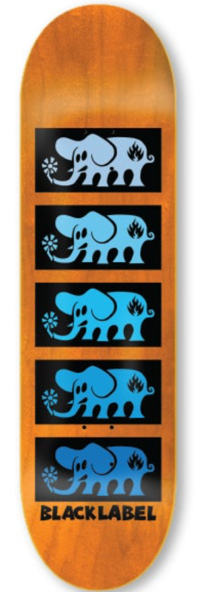 Black Label - ELEPHANT STACKED 8.0″ x 31.875″