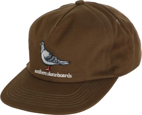 Anti Hero - Lil Pigeon Snapback Hat (Olive Green)