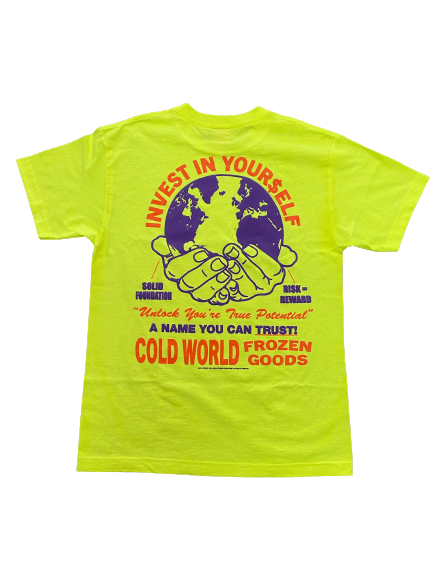Cold World - Investment Tee