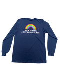 NJ - A Superior Place Longsleeve Tee (NAVY)