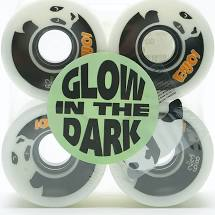 Enjoi - Astro Panda GLOW IN THE DARK Cruiser Wheel 83a 62mm