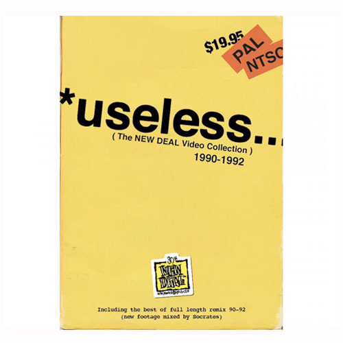 New Deal - Useless (The New Deal Video Collection) 1990-1992 DVD