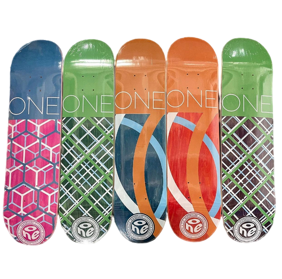 One Skateboards - Logo Decks