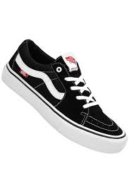Vans - Sk8 Low (Black/White)