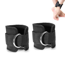 Load image into Gallery viewer, Resistance Band D-ring Ankle Strap