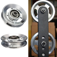 Load image into Gallery viewer, Aluminum Lift Heavy Load Pulley