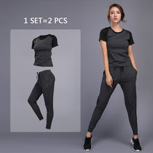 Load image into Gallery viewer, Fitness Training Yoga Suit