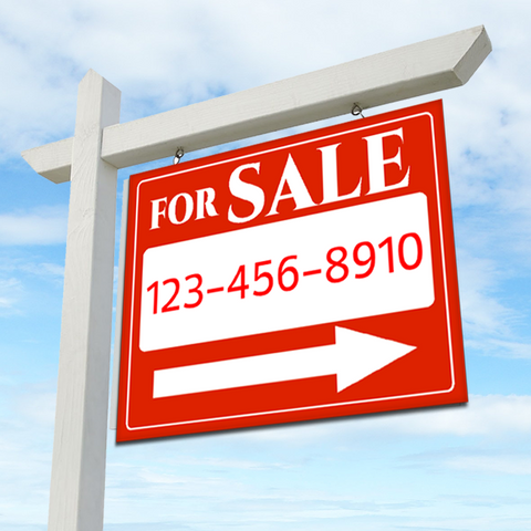FOR SALE 18 x 24 Real Estate Sign