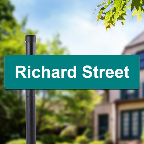 Create Your Own 6 x 24 Street Sign