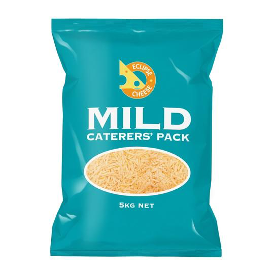Mild Grated Caterers Cheese Packet 5kg