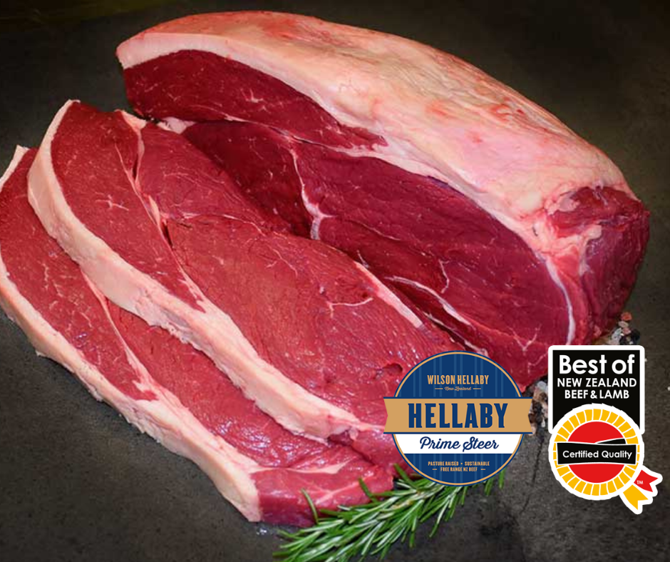 HELLABY -  Prime Steer Whole Rump NZ Beef price per kg      (4-6kg per piece)
