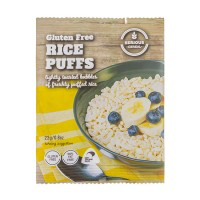 Serious Cereal. Gluten free Rice Puffs. 25gm x 48