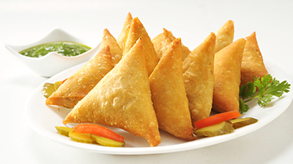 Vegetable Samosa 12.5g each x 1kg