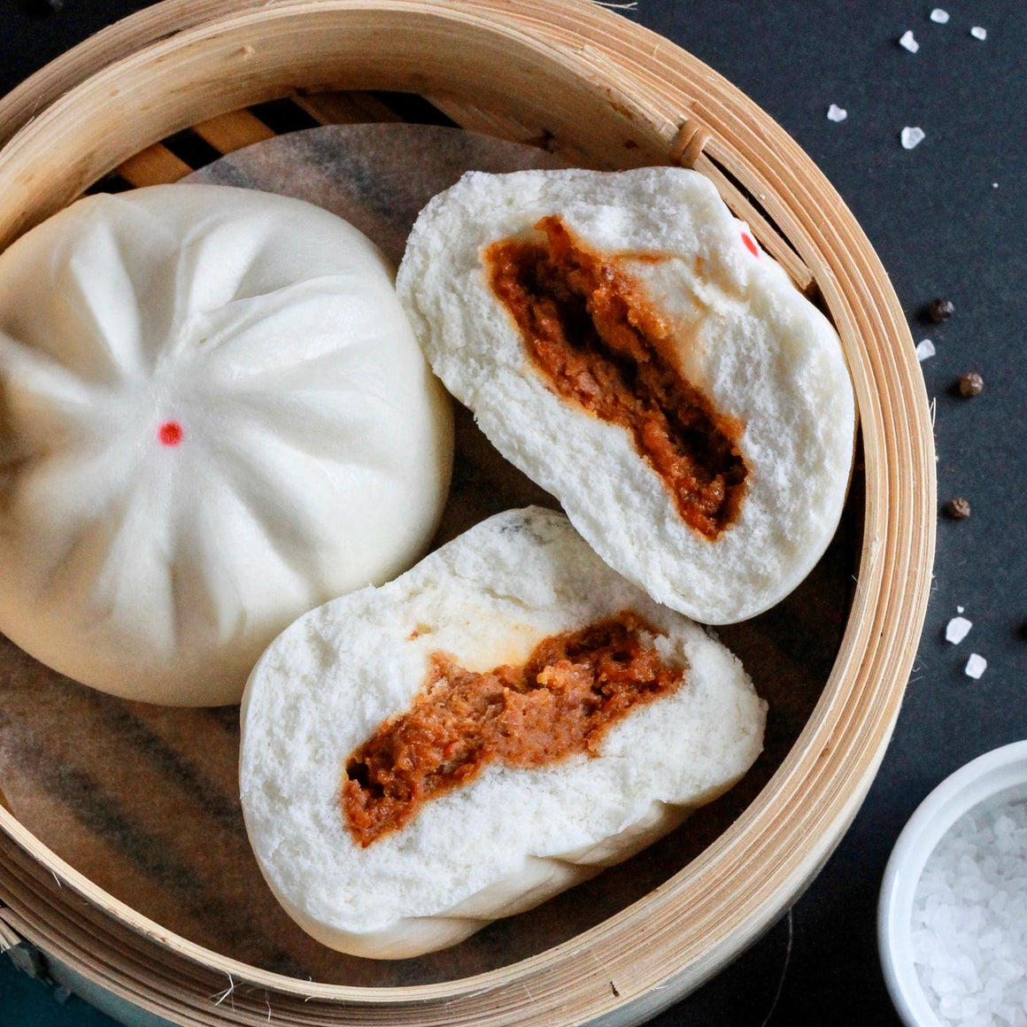 BBQ Pork Buns 100g x 6 Pieces