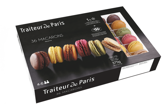 Genuine French Macarons  36 pack  Made in France