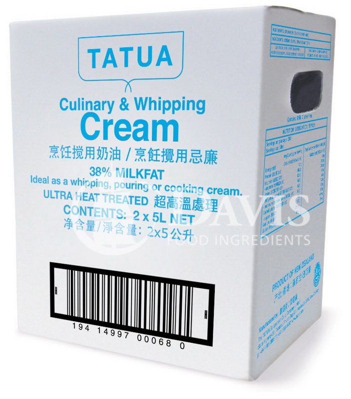 Tatua Culinary and Whipping cream 5Litre box