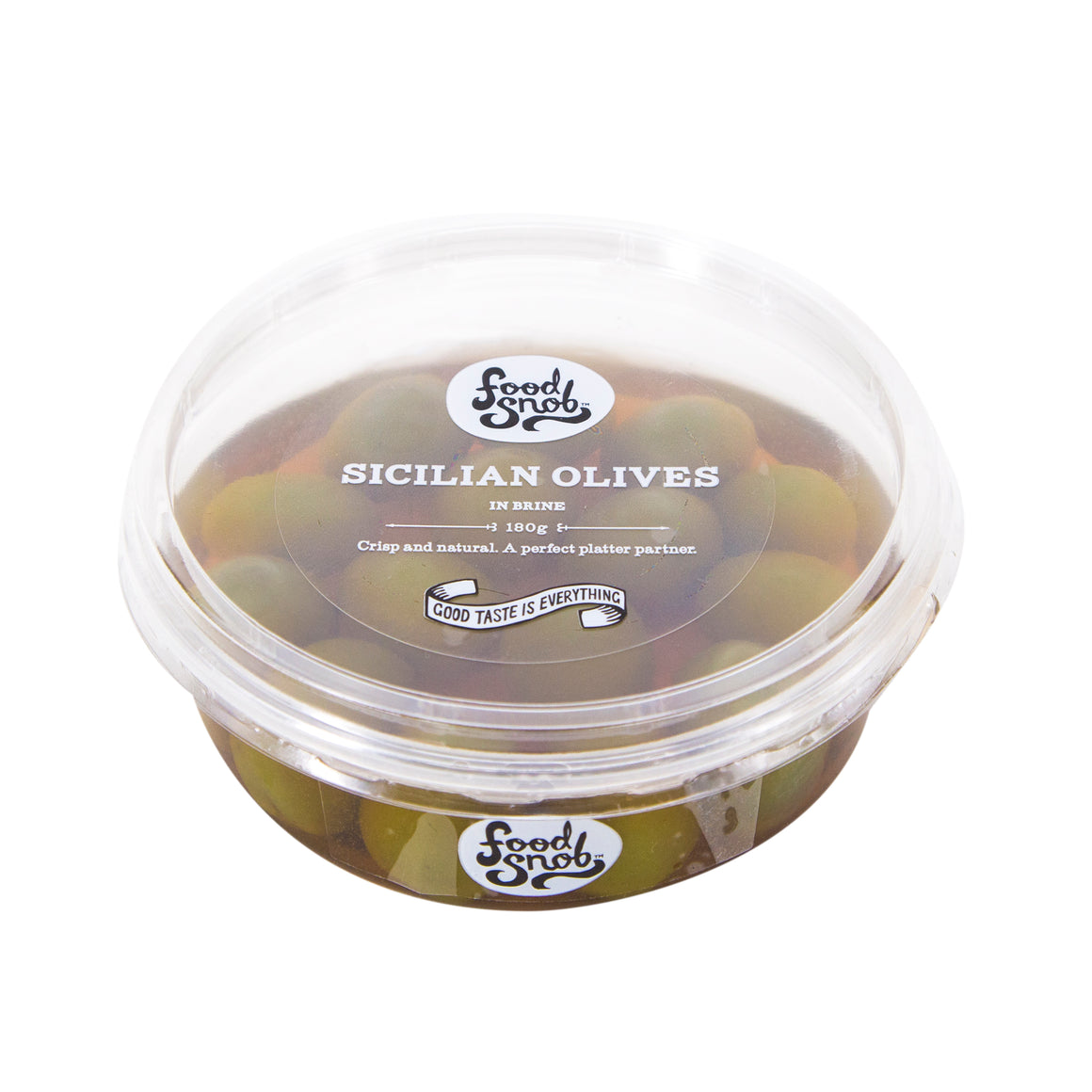 Food Snob Green Sicilian Olives 180g