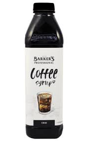 Barkers Chai coffee syrup 1L