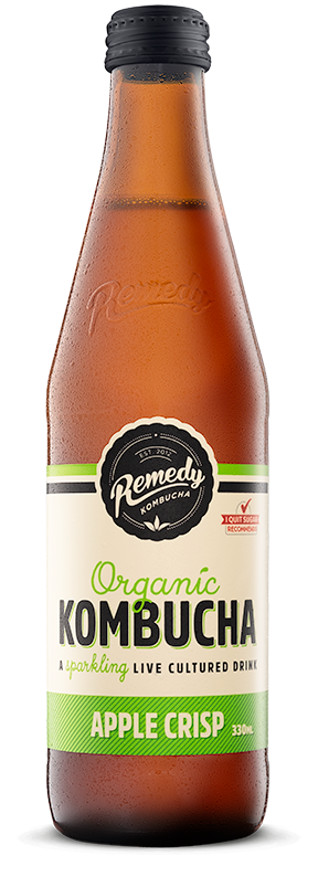 Remedy Kombucha Organic Crisp apple 330ml