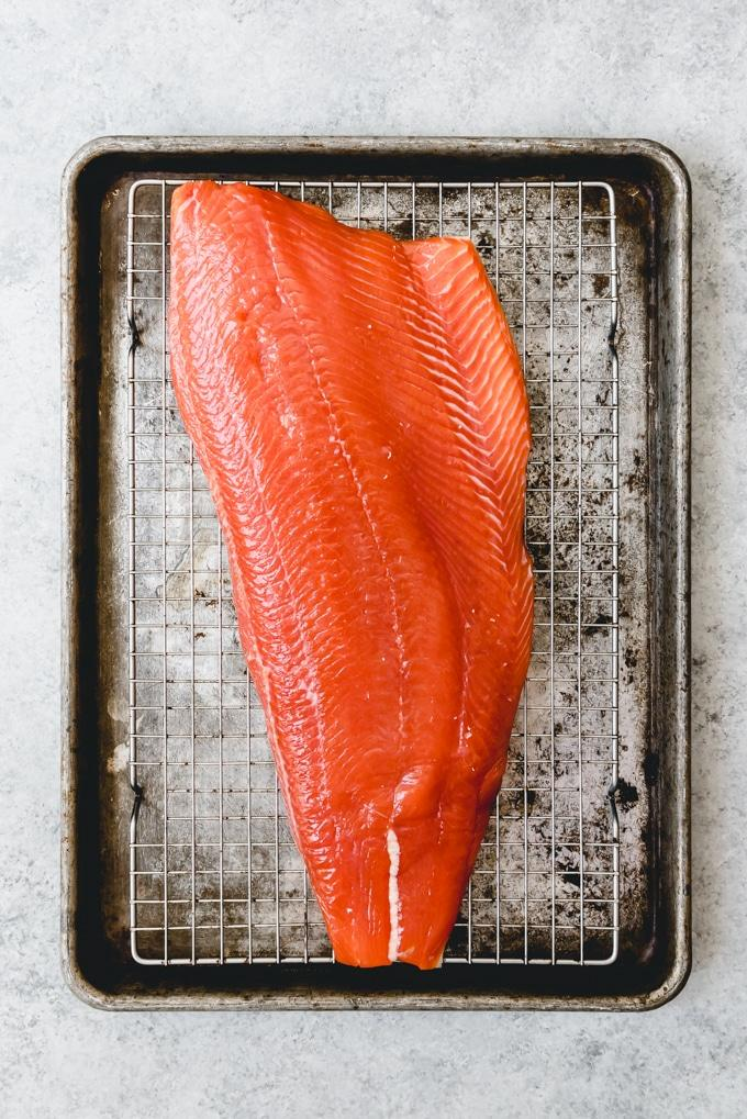 Aoraki Hot Smoked Salmon Fillet 600g-800g Bone Out  Per/ kg