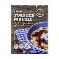 Serious Cereal Toasted Muesli. 55gm x 48