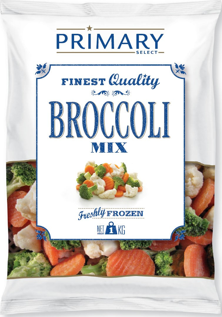 Primary Broccoli Mix Frozen 1kg