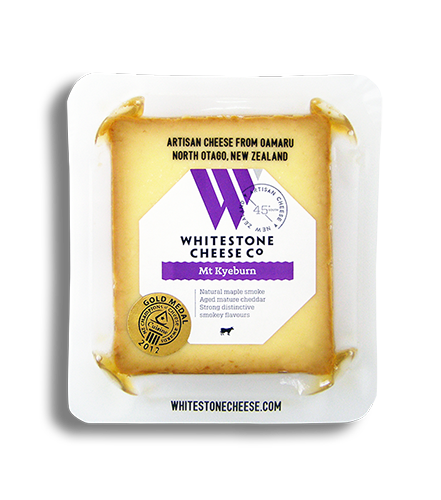 Whitestone Mt Kyeburn Smoked Cheddar Slice (100g)(Each)