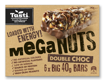 Tasti Double Choc MEGA nuts 10 x 240g packets