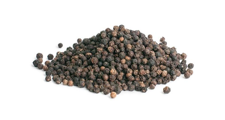Peppercorns Black/ Whole 500g