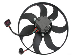 220W Engine Cooling Fan Motor - 2009-2013 Jetta TDI Sportwagen and Sedan