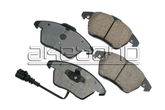 Front Brake Pads - 2009-2013 Jetta TDI Sportwagen and Sedan