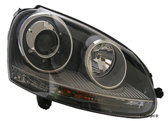 HID Headlight assembly. Passenger's side - 2006-2010 Jetta TDI