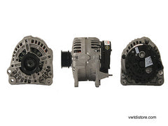 vw tdi alternator 70 amp bosch remanufactured