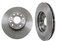 Front Brake Rotor - 2009-2013 Jetta TDI Sportwagen and Sedan