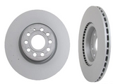 Front Disc Brake Rotor - 2009-2013 Jetta TDI Sportwagen and Sedan