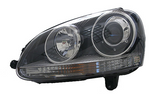 HID Headlight assembly. Drivers side - 2006-2010 Jetta TDI