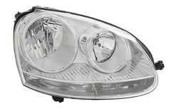 Passenger's Side Headlight Assembly - 2006-2010 Jetta TDI Sportwagen and Sedan