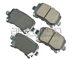 Rear Brake Pads - 2009-2013 Jetta TDI Sportwagen and Sedan
