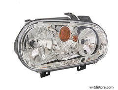 VW Headlight Assembly  Right for Golf or Jetta w/out fog