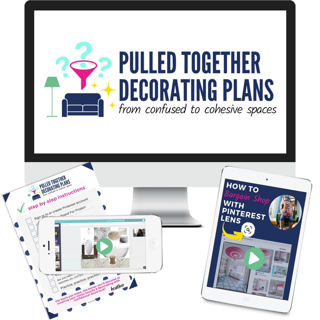 Pulled Together Decorating Plans