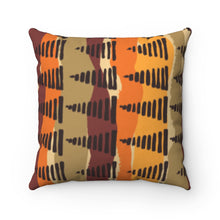 "Load image into Gallery viewer, ""SHOUT OUTS""- Spun Polyester Square Pillow"