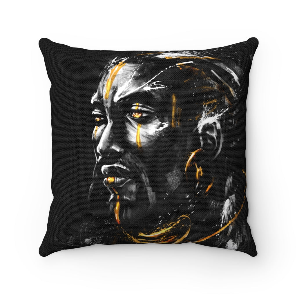 SUBLIME WARRIOR-  Spun Polyester Square Pillow