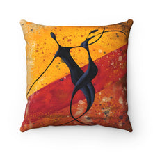 "Load image into Gallery viewer, ""FEELIN IT""-  Spun Polyester Square Pillow"