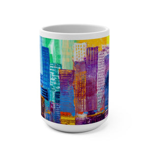 CITY SKYLINE Mug 15oz