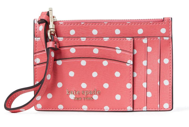 Kate Spade Spencer Card Case Wristlet - Peach Melba Multi