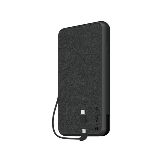 Powerstation Plus - Black Fabric (6,040mAh)