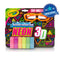 Crayola Neon 3D Chalk Play Pack