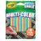 Crayola Multicolor Washable Sidewalk Chalk